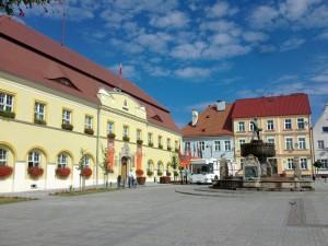 urząd miasta w Darłowie - rynek