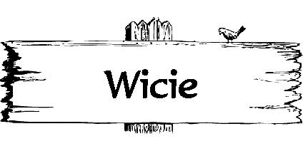 tablica miejscowości wicie