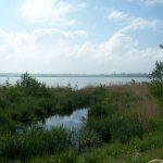 jezioro Kopań i stary przepust