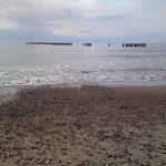 falochron w morzu w Wiciach