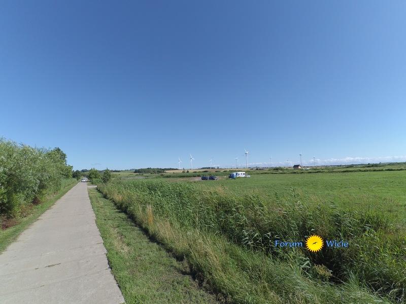 droga z plaży w stronę Kopania