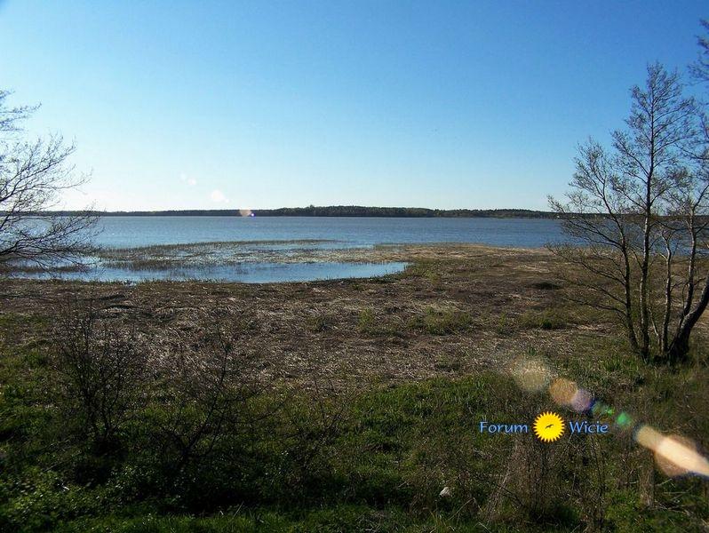 jezioro Kopań z urwiska