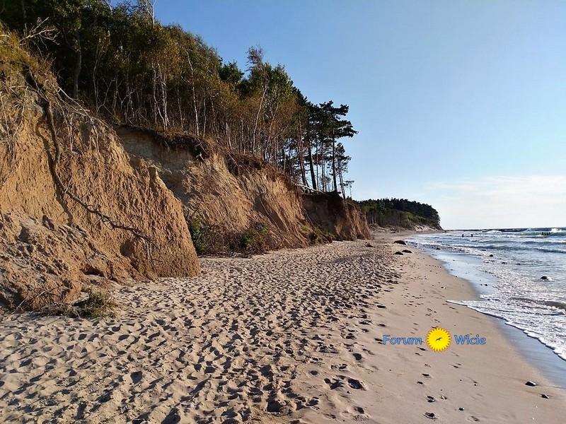 plaża i klify